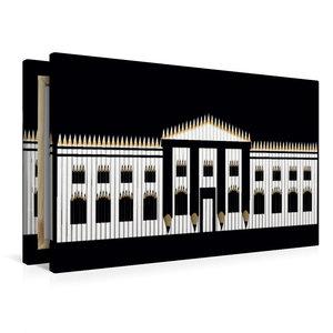 Premium Textil-Leinwand 90 cm x 60 cm quer Weißes Haus, USA