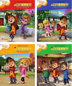 Nelson Mini-Bücher: 4er Alvinnn!!! und die Chipmunks 1-4