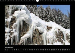 Surselva - Graubünden (Wandkalender immerwährend DIN A3 quer)