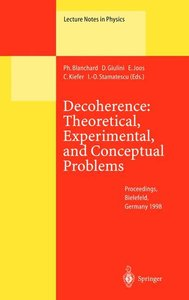 Decoherence: Theoretical, Experimental, and Conceptual Problems
