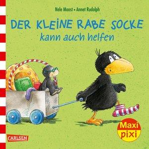 Maxi-Pixi Nr. 230: VE 5 Der kleine Rabe Socke kann auch helfen