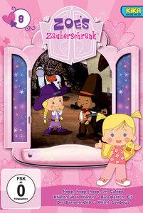 Zoes Zauberschrank 08: Im Galopp / Krähen / Glattes Eis / Banane