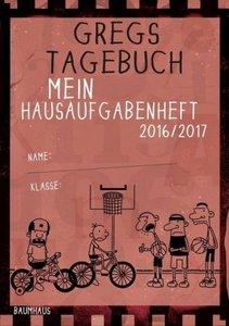 Gregs Tagebuch - Mein Hausaufgabenheft 2016/2017 (VE 5)
