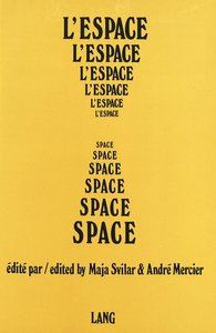L'Espace - Space: Institut International de Philosophie. Entreti