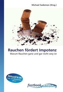 Rauchen fördert Impotenz