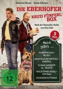 Die Eberhofer- Kruzifünferl Box, 5 DVD