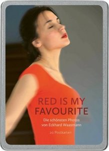 Red is my Favourite. 20 Postkarten