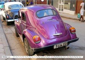 RENAULT 4CV - Frankreichs Käfer auf Kuba (Wandkalender 2020 DIN