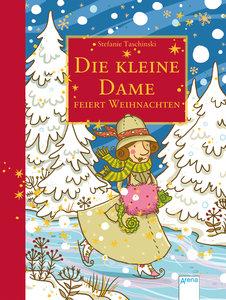 Die kleine Dame feiert Weihnachten