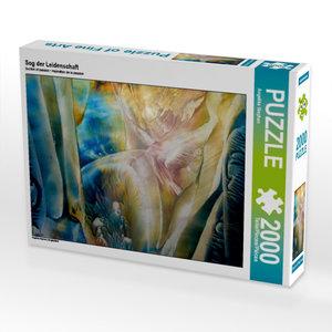 Sog der Leidenschaft 2000 Teile Puzzle quer