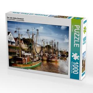 Der alte Hafen Greetsiel 1000 Teile Puzzle quer