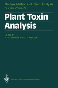 Plant Toxin Analysis