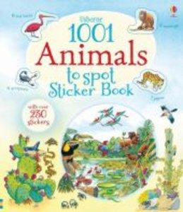 Usborne 1001 Animals to Spot Sticker Book