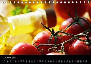 Pasta KreationenCH-Version (Tischkalender 2019 DIN A5 quer)
