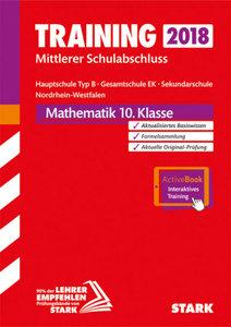 Training Mittlerer Schulabschluss 2018 - Hauptschule Typ B Nordr