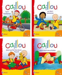 Nelson Mini-Bücher: 4er Caillou 13-16