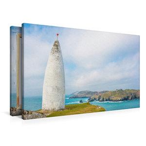 Premium Textil-Leinwand 90 cm x 60 cm quer Baltimore Beacon
