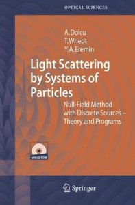 Light Scattering by Systems of Particles