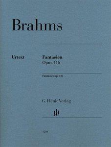 Fantasien op. 116 für Klavier zu zwei Händen. Revidierte Ausgabe