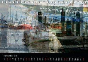 Hamburg-Art (Tischkalender 2019 DIN A5 quer)