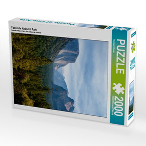 Yosemite National Park 2000 Teile Puzzle hoch