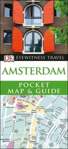 DK Eyewitness Pocket Map and Guide Amsterdam