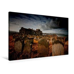 Premium Textil-Leinwand 90 cm x 60 cm quer Gothic Fantasy - Frie