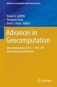 Advances in Geocomputation