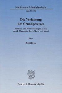 Die Verfassung des Grundgesetzes