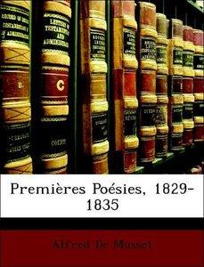 Premières Poésies, 1829-1835