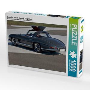 Mercedes 300 SL Hardtop Flügeltürer 1000 Teile Puzzle quer