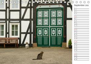 Sauerländer Fachwerkidylle (Tischkalender 2020 DIN A5 quer)