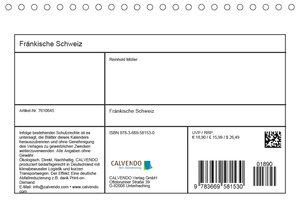 Fränkische Schweiz (Tischkalender 2019 DIN A5 quer)