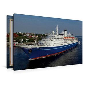 Premium Textil-Leinwand 120 cm x 80 cm quer Kreuzfahrtschiff MAR