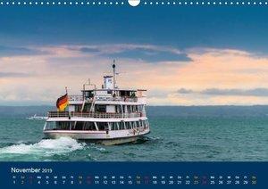 Ansichten vom Bodensee (Wandkalender 2019 DIN A3 quer)