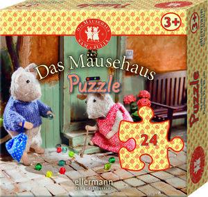 Das Mäusehaus-Puzzle 24 Teile