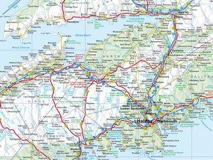 Canada Atlantic Provinces & Island of Newfoundland 1: 800 000 /