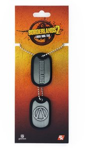 Borderlands - Dog Tag / Erkennungsmarke - Logo