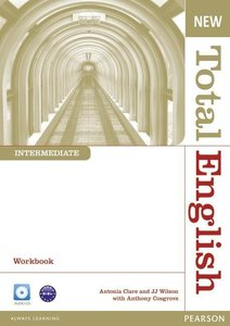 New Total English Intermediate Workbook without Key and Audio CD