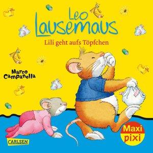 Maxi-Pixi Nr. 261: VE 5 Leo Lausemaus: Lili geht aufs Töpfchen