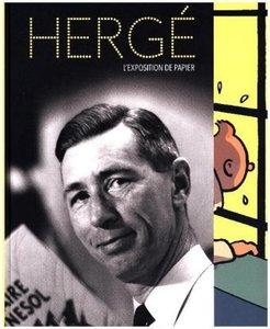 Hergé: L\'exposition de papier