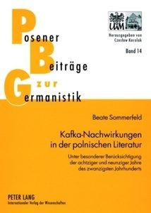 Kafka-Nachwirkungen in der polnischen Literatur