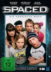 Spaced - Staffel 1+2: Folge 01-14. Staffel.1+2, 2 DVD