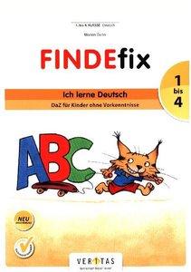 FINDEfix 1. - 4. Schuljahr - Ich lerne Deutsch