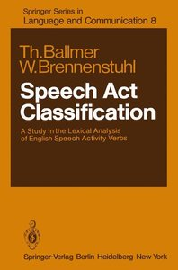Speech Act Classification