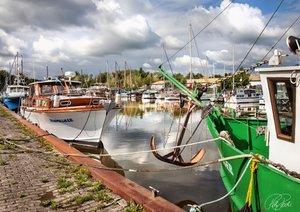 Friesland - am Vareler Hafen (Posterbuch DIN A2 quer)