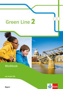 Green Line. Workbook mit Audio-CDs 6. Schuljahr. Ausgabe Bayern