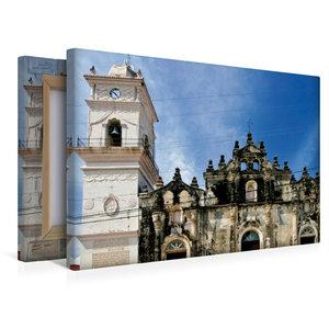Premium Textil-Leinwand 45 cm x 30 cm quer Nicaragua, Granada, L