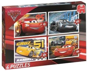 Disney Pixar Cars 3 (Kinderpuzzle) 4in1