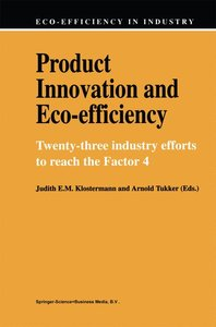Product Innovation and Eco-Efficiency